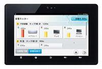 専用タブレット端末で表示するイメージ