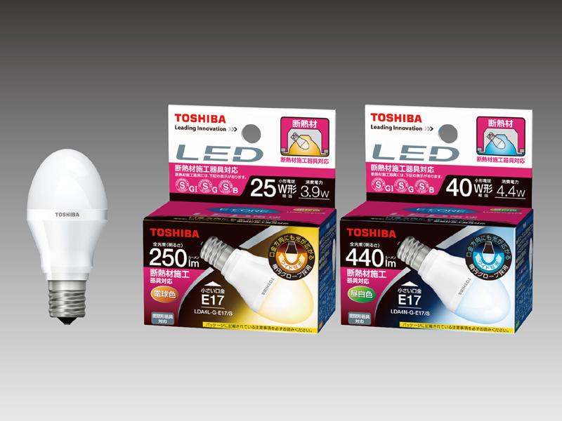 ミニクリプトン形 断熱材施工器具対応 LED電球