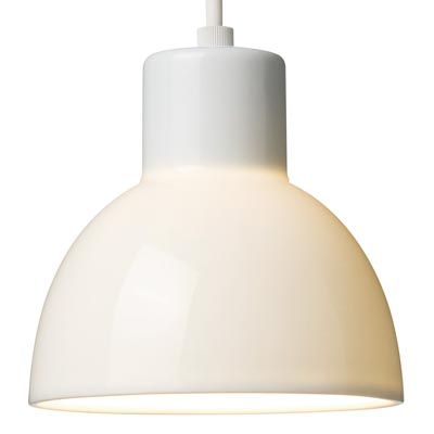 LED磁器シェードペンダントライト・小