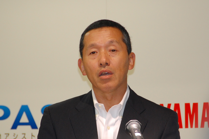 ヤマハ発動機 執行役員 SPV部長 小林正典氏