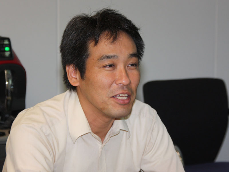 三菱電機 クリーナー営業課 担当課長 赤石都良氏
