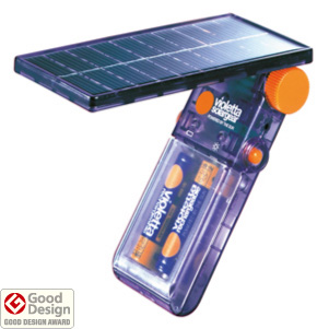 発売元の太陽工房は、10年ほど前に開発した小型モバイル太陽電池「バイオレッタ ソーラーギア VS01」でも有名