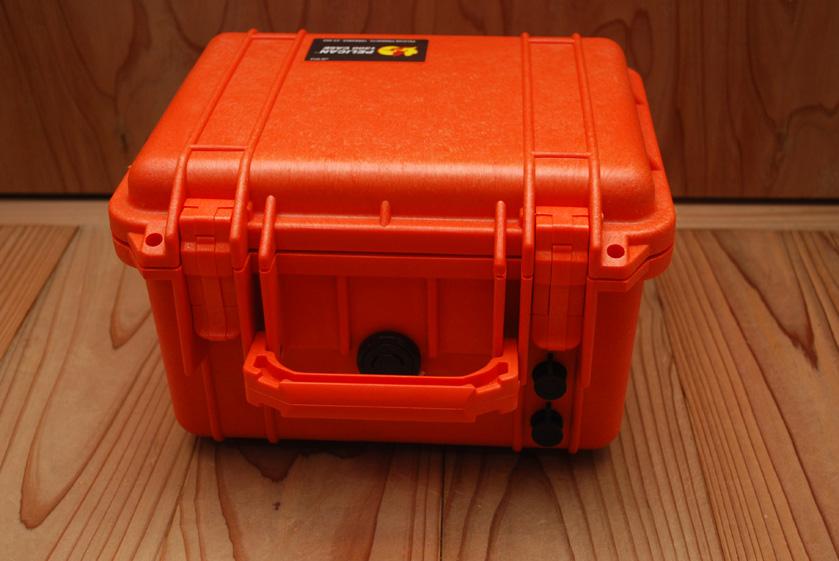 バッテリーが入っているボックス。約7.8kgと、ずっしりと重い