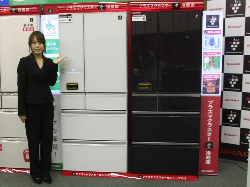 プラズマクラスター冷蔵庫「SJ-GF60W」