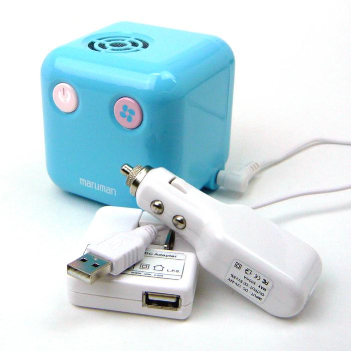電源はACアダプターのほか、USB、車載用USB-DCケーブルも用意される