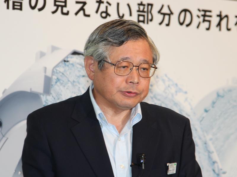 日立アプライアンス 常務取締役 家電事業部長の石井吉太郎氏
