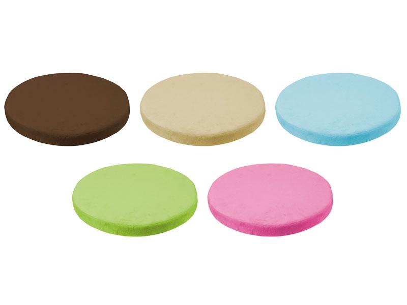カラーバリエーション(左上からブラウン/ベージュ/ブルー/グリーン/ピンク)