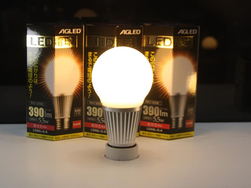 電球色タイプの「LDA6L-G-A」