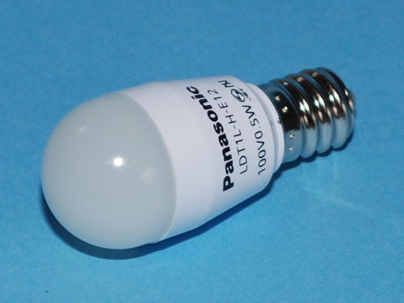 パナソニック「LED電球 小丸電球 0.5W(電球色相当) LDT1LHE12」