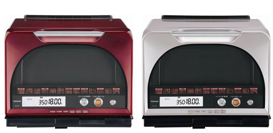 東芝ホームアプライアンス「石窯ドーム」ER-JD510。カラーはレッドとレディッシュゴールド。実勢価格108,000円