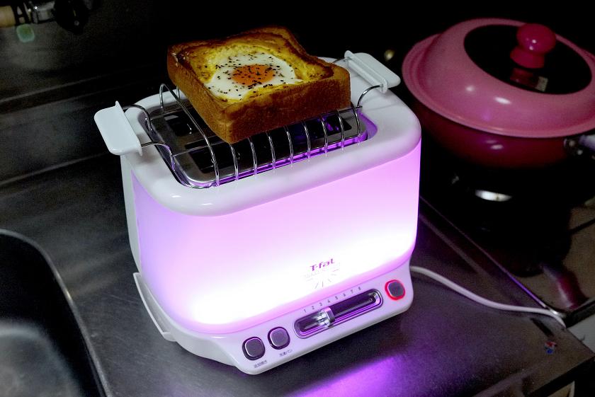 エッグトーストを温め直してみた
