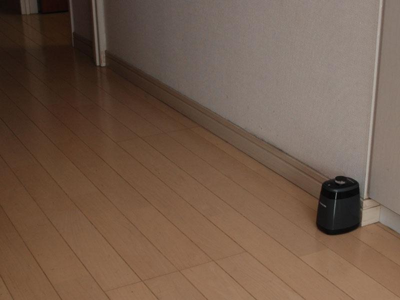 バーチャルガードを廊下に置いた例。この先には進まない