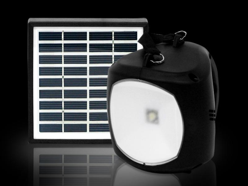 BIG-21 ソーラー充電LEDライト&マルチモバイルチャージャー エコロン