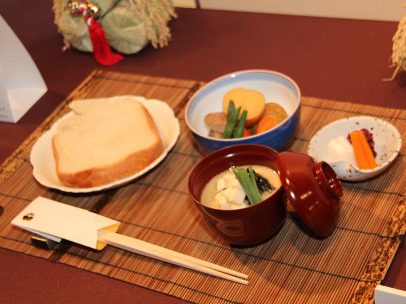ごはんと同じように和食に合わせて食べることを提案していた