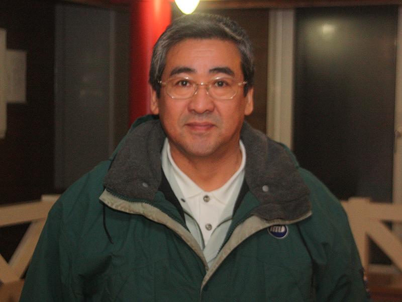 同委員会の三浦規光幹事長。三浦電気株式会社の専務取締役も務める
