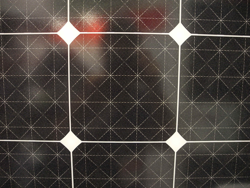 幾何学模様のような表面が面白い