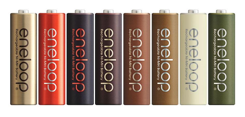 eneloop tones chocolatは、以前に発売したeneloop tonesのチョコレート(ショコラ)をテーマにしたデザインとなっている。確かに食べられそうだ(笑)