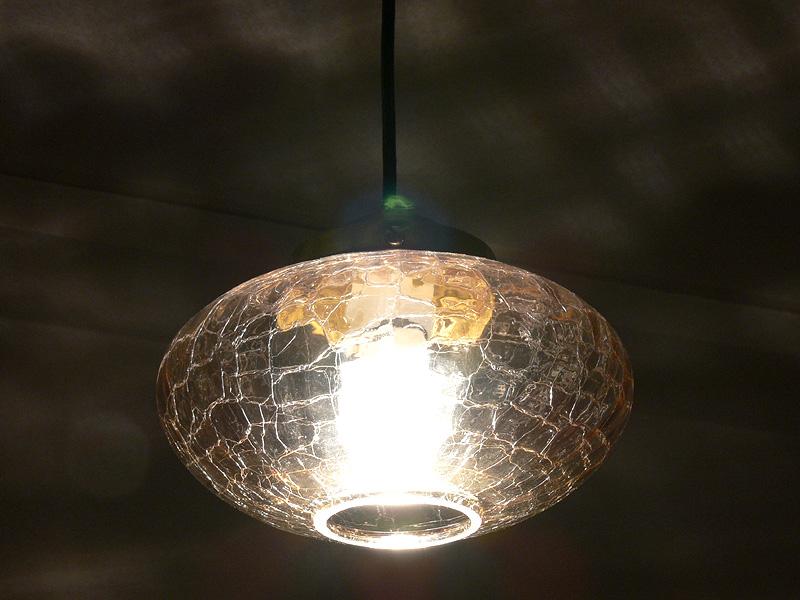 <b>【エバーレッズ:LDA4LC】</b><br>器具の輝きは、クリア電球と違いがわからないほど同じ印象だ