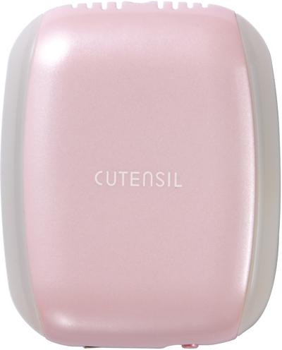 「CUTENSIL ペンダントイオン発生器 CU91-IG」ピンク