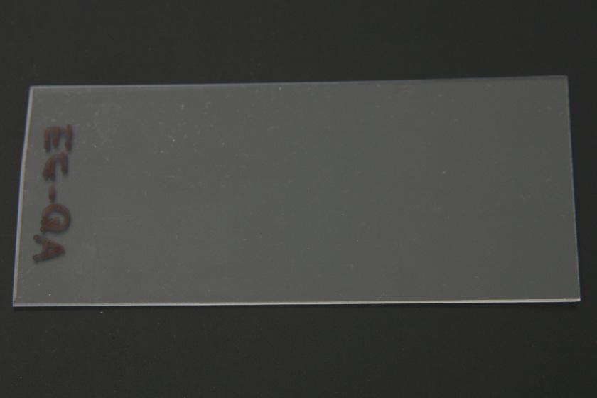 吹き出し口の湯気チェック。超音波式ほどではないが、わずかに白い斑点が見える