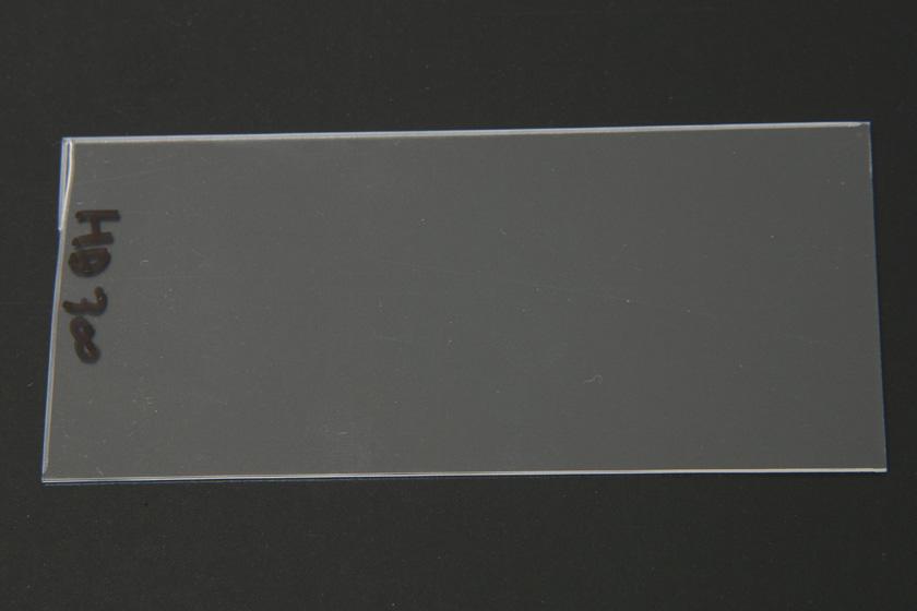 ミストや湯気が見えないほど細かい水滴を放出するため、透明板には付着物はほとんどなかった