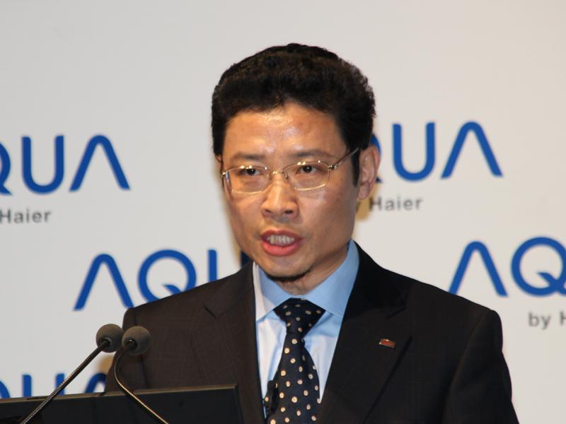 ハイアールグループ副総裁 兼 ハイアールアジアインターナショナル 代表取締役社長 杜 鏡国氏