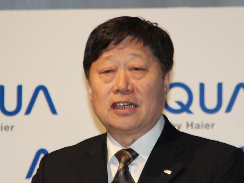 ハイアールグループCEO 兼 ハイアール アジア インターナショナル 名誉会長 張端敏氏
