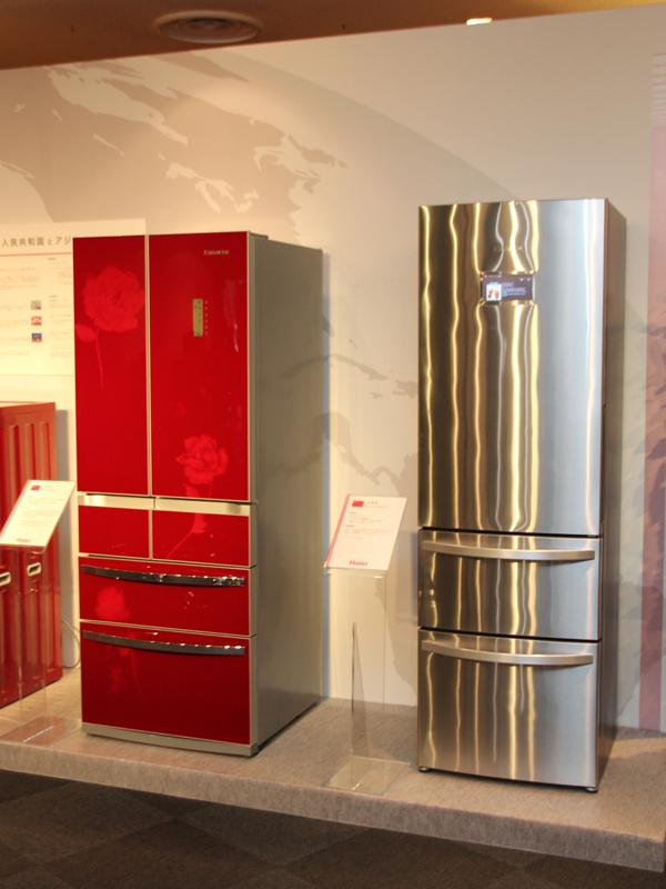 中国で販売している冷蔵庫2機種