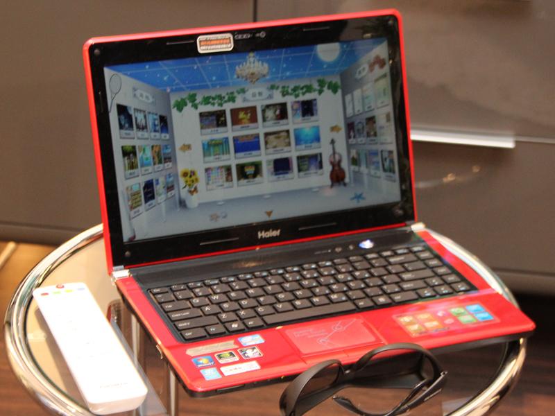 日本ではみかけない「Haier」ブランドのパソコンも