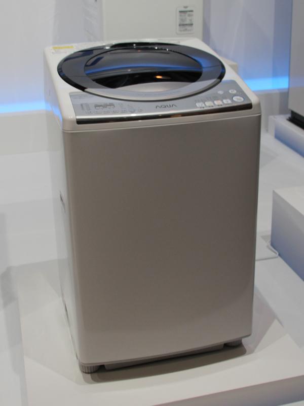 縦型の洗濯乾燥機