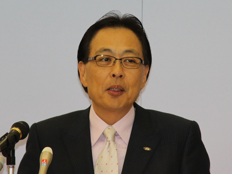 シャープ 常務執行役員 健康・環境システム事業部 岡田守行本部長