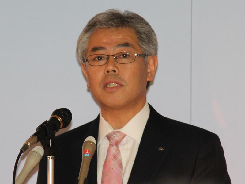 シャープ 健康・環境システム事業本部 LED照明事業部の桃井恒浩部長