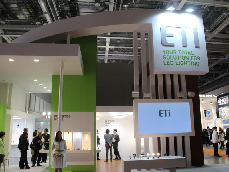 ETI-LED Solution Japanのブース