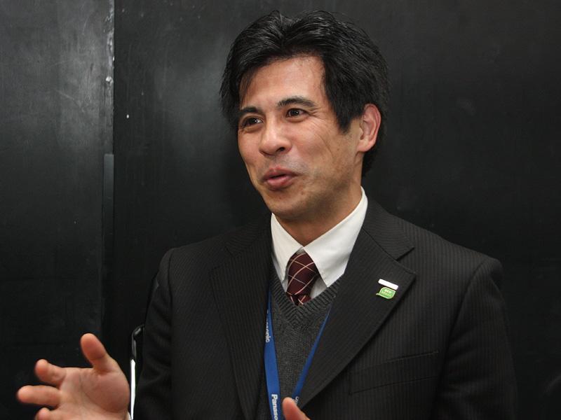 パナソニック アプライアンスマーケティング ジャパン本部 ライティングチームの鈴木勝氏