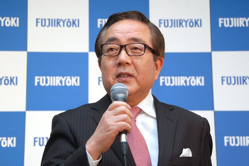 株式会社フジ医療器の木原定男 代表取締役会長
