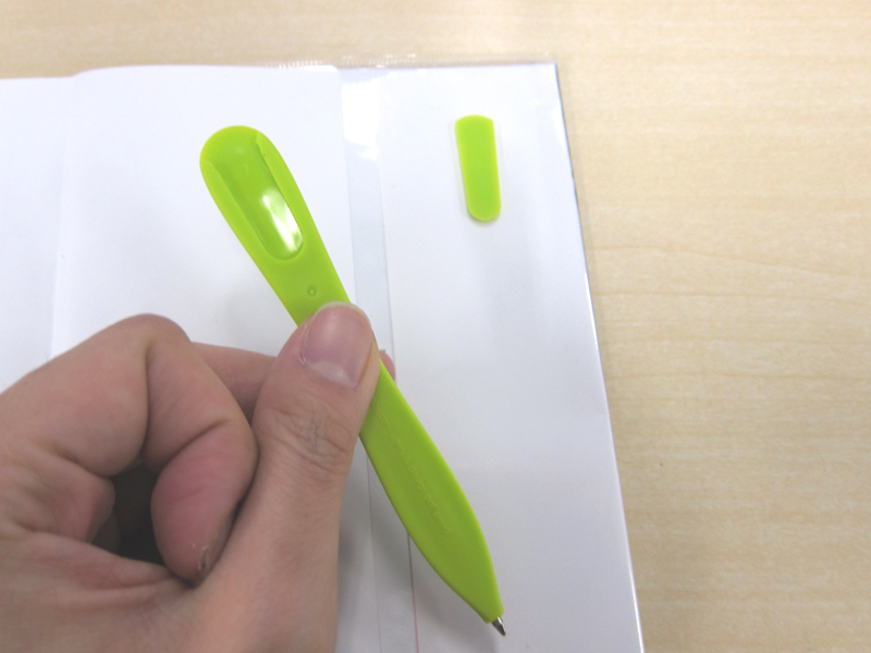 Slim Penの背面