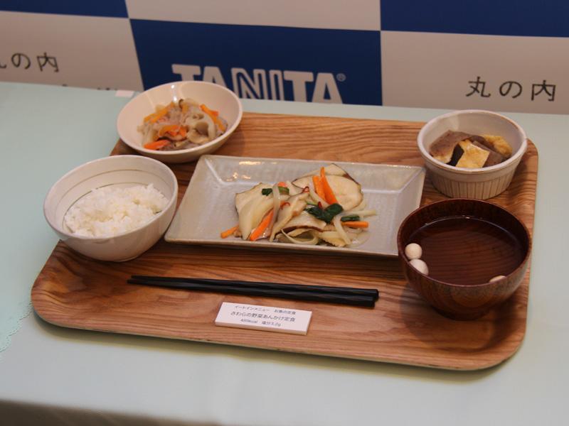 お魚の定食:さわらの野菜あんかけ定食