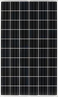 設置予定の242Wの太陽電池モジュール