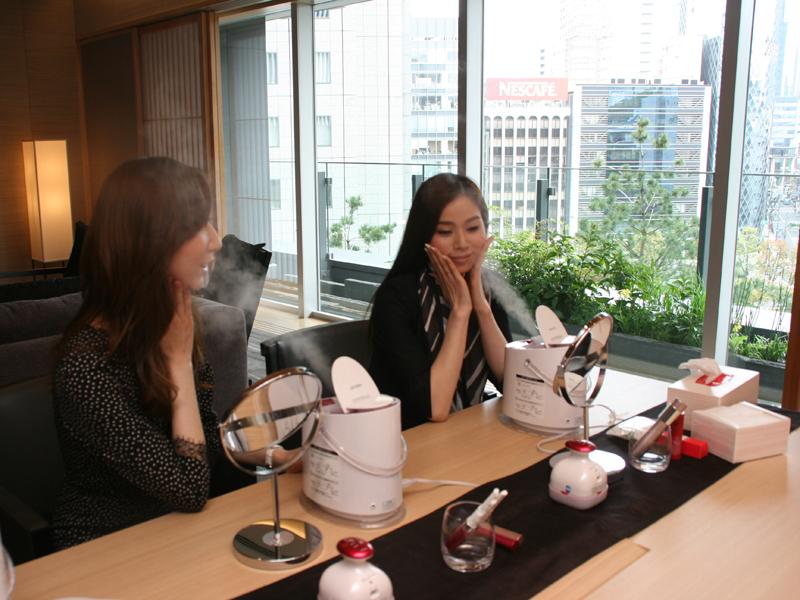 パナソニック、資生堂、JTBの三社がコラボレーションした女性向けの宿泊プラン。パナソニックの美容家電製品をじっくり試せる点が特徴