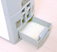 お米を約15℃で保存するため、害虫からお米を守る効果もある