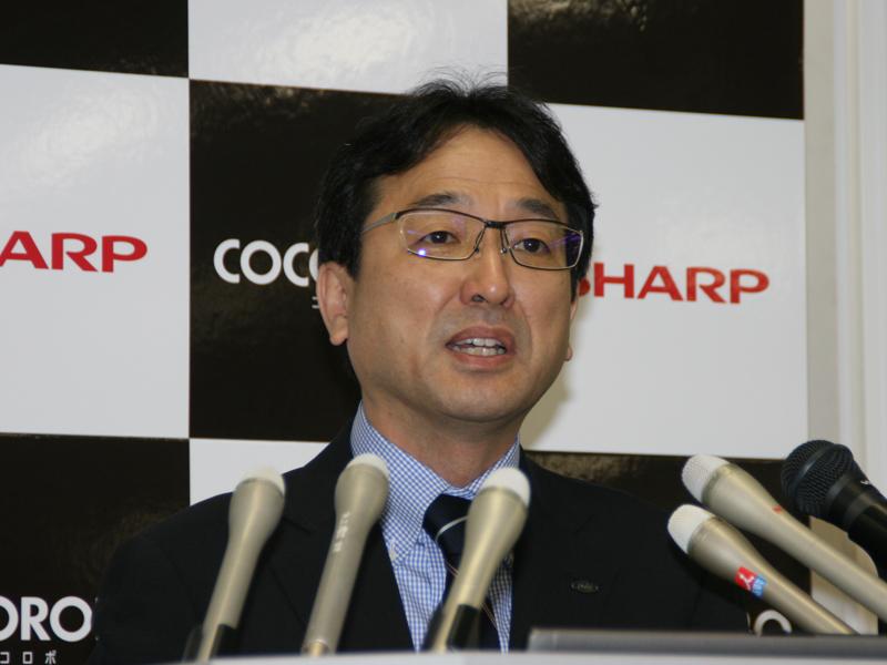 健康・環境システム事業本部 ランドリーシステム事業部長 阪本実雄氏