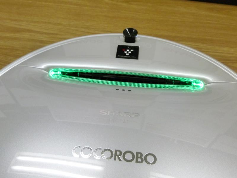 シャープ独自のプラズマクラスター放出機能も搭載する