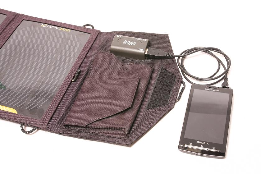天気のいい日でかつ、タブレット端末でなければ太陽電池パネルから直接充電するといい