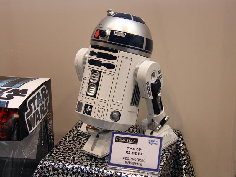 映画「スター・ウォーズ」に登場するロボット「R2-D2」形のプラネタリウム「R2-D2 EX」も発売する予定