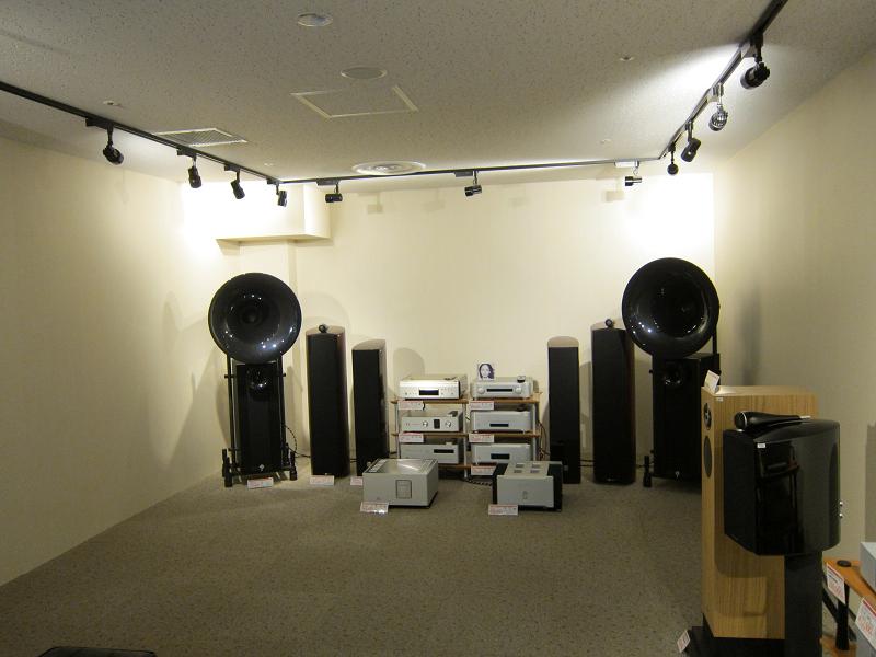 完全防音の「高級オーディオ視聴室」