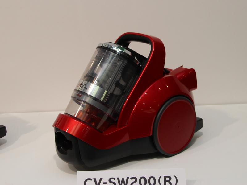 小型・軽量タイプの「2段ブーストサイクロン CV-SW200」