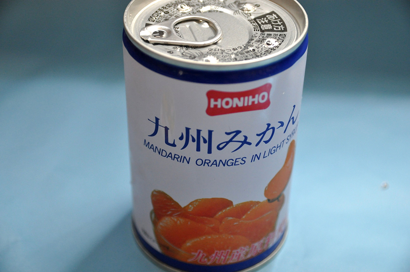 みかんの缶詰を仕様してアイスを作る