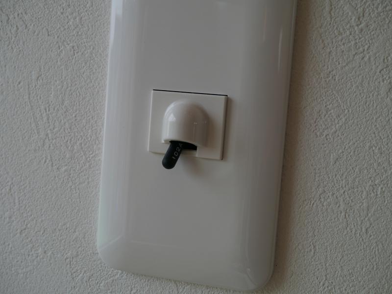 温度センサーを引っ張り出したところ