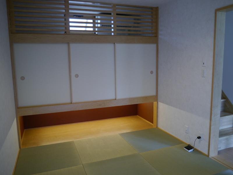 和室の様子