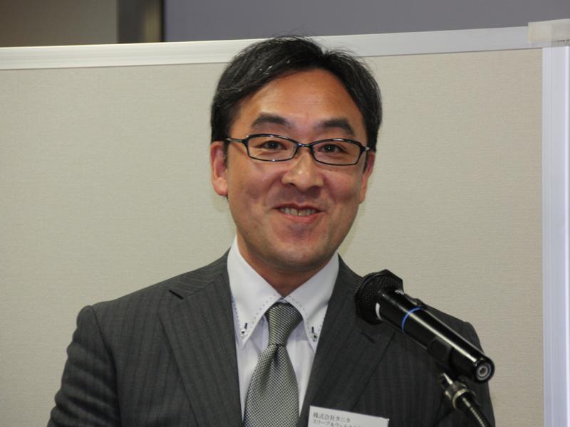 タニタ スリープ&ウェルネス事業部 佐藤富男部長
